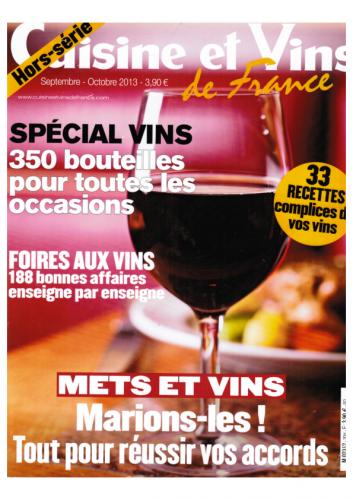 4a Cuisine et Vins HS 2013&