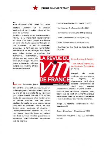 Revue des vins de France 2018