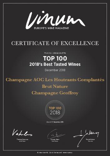 Vinum 100 Best 2018