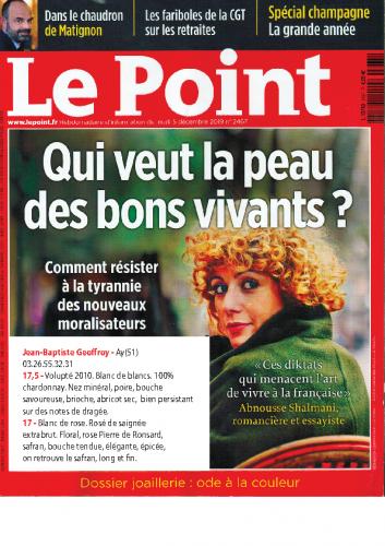 LE POINT 2019