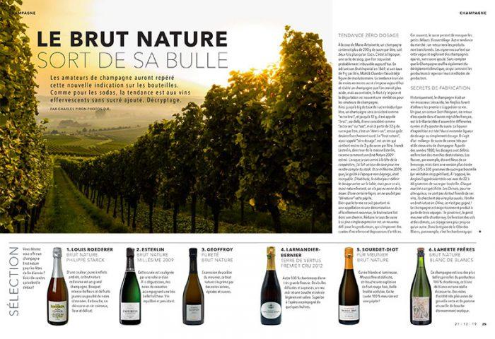 Magazine le Soir – Belgique – Décembre 2019