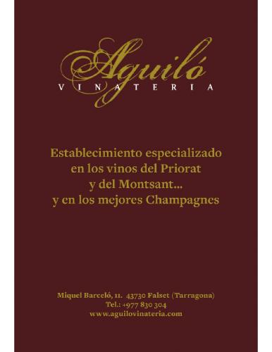 AGUILO VINATERIA 2021